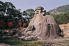 Laozi under Mount Qingyuan