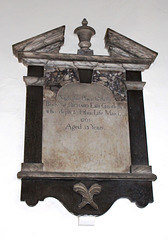 Memorial to Richard Esh, All Saints' Church, Nafferton, East Riding of Yorkshire