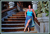 Dame Annick / LA MONTEE DES MARCHES !! - Ready to climb those stairs !