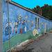 Façade artistique / Artistic wall - 12 juillet 2010.