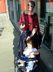 Avec Molly en 2010 ...du temps que j'étais heureuse