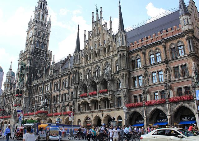 """""""Neues Rathaus"""" in München"""