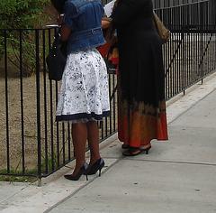 Harlem, New-York City / Gospel and high heels !  Gospel et Talons Hauts ! - 19 août 2007 / Recadrage