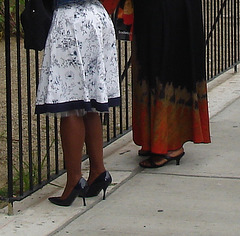 Harlem, New-York City / Gospel and high heels !  Gospel et Talons Hauts !