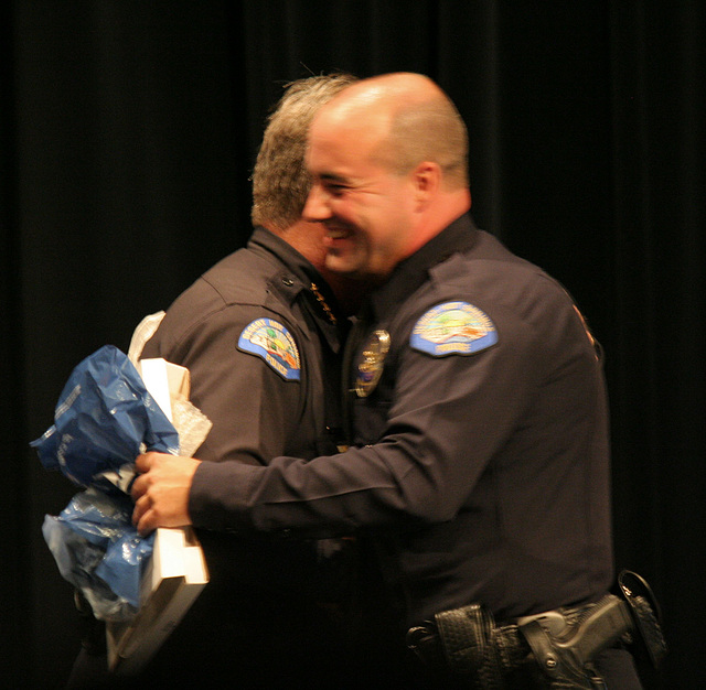 Chief Williams & Officer Jason Hunter (6458)