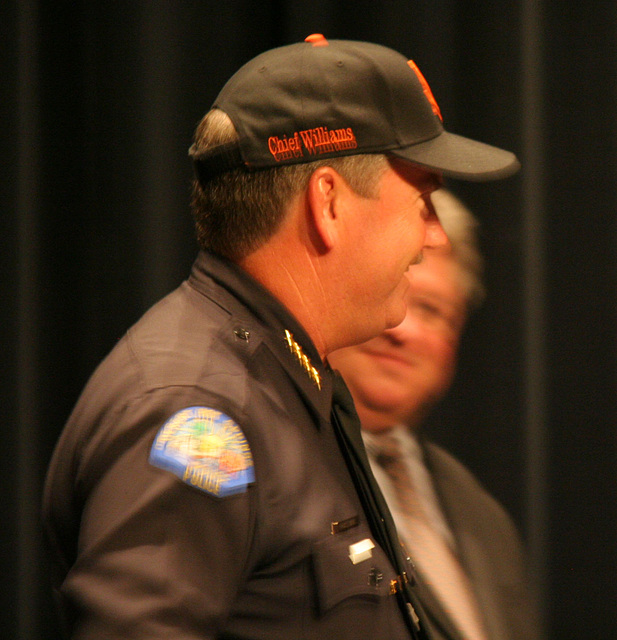 Chief Williams in San Francisco Giants Cap (6450)