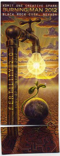 Burning Man Ticket 2012