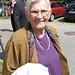 eine lächelnde Tante Hanni