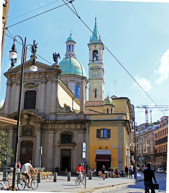 Auf dem Weg zum Dom in Mailand