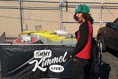 Kai at Jimmy Kimmel