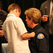 Pinning The Badge On Chief Singer (6593)