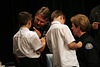 Pinning The Badge On Chief Singer (6594)