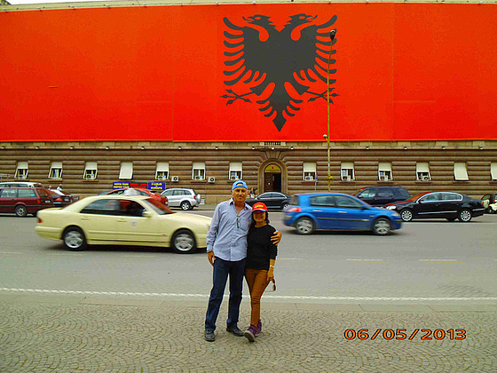 Ni antau la albania flago