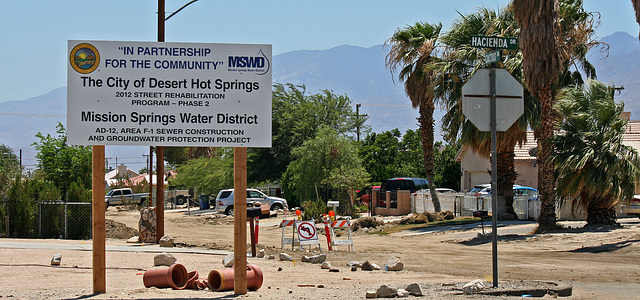 Joint MSWD - City of DHS Cactus Drive Improvements (5955)