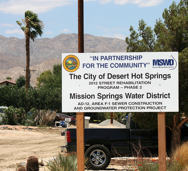 Joint MSWD - City of DHS Cactus Drive Improvements (5959)