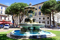 Antonio Bossi Brunnen in Lugano