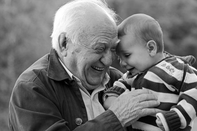 l'art d'être grand-père : José et Théophile