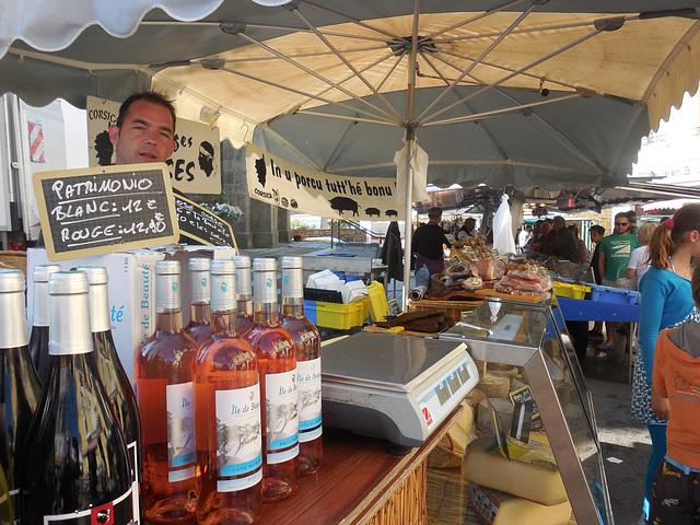 la corse s'invite au marché breton