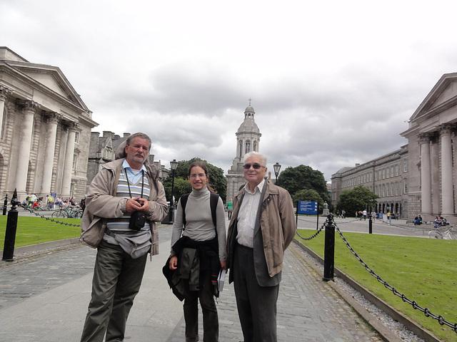 Trinity College en Dublino