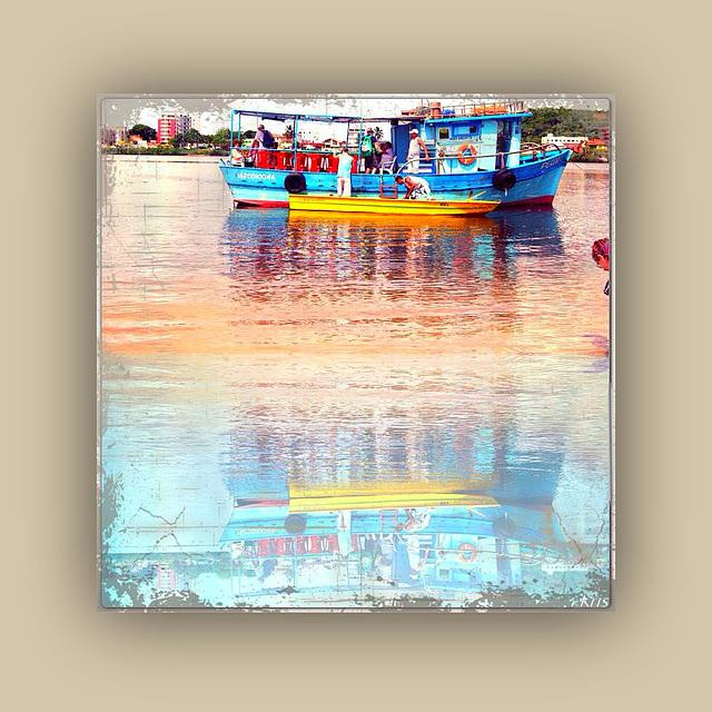 Le monde est dans ses couleurs pures ..................Comme dans tes boites de peinture