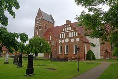 Sweden - Åhus, Sankta Maria kyrka