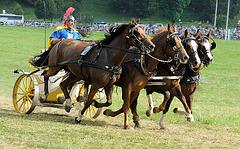 Course de chars romains...