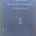 P. Christaller: Deutsch-Esperanto Wörterbuch
