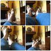 Christiane - Jeans et sandales plates / Jeans and flat sandals