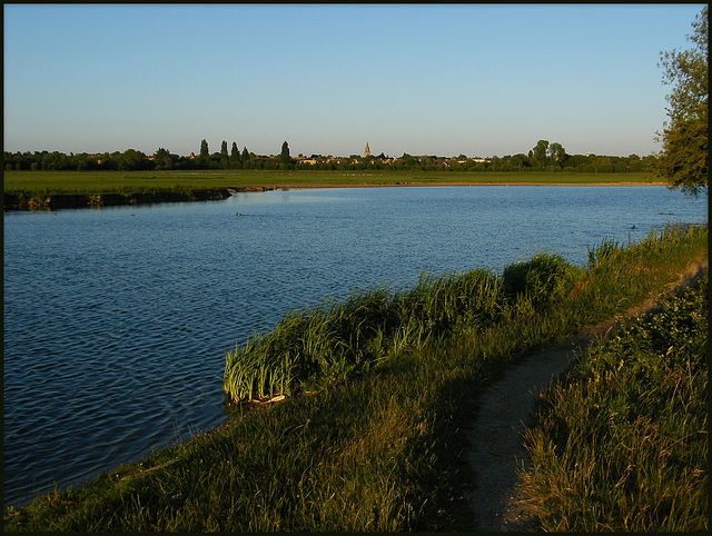 River Thames at Port Meadow
