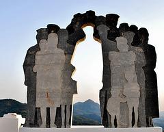 5 esculturas del pueblo-museo (Genalguacil 2)