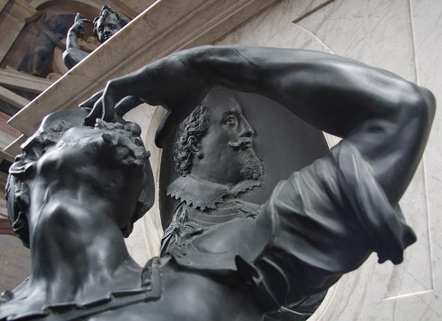 Relief mit Porträt des Fürsten Ernst, Graf von Holstein-Schaumburg