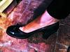Madame Christine en talons hauts / Lady Christine's high heels close-up