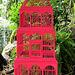 Une cage pour les oiseaux