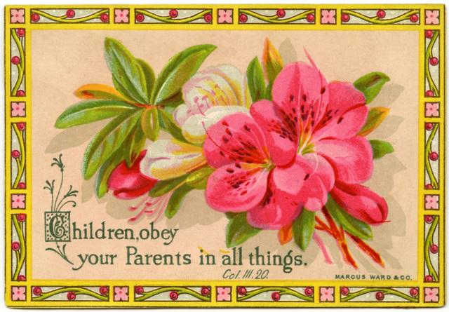 Children, Obey Your Parents