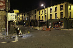 Main Street Boyle at Night TM2 3846