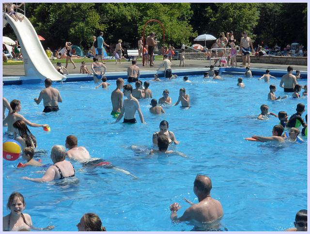 Nichtschwimmerbecken im Annabad Hannover