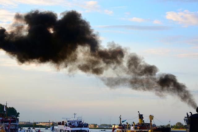 Dordt in Stoom 2014 – Vlootschouw – Diesel smoke