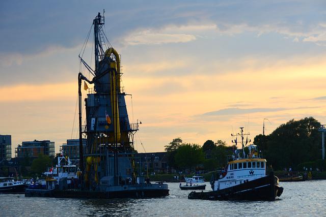 Dordt in Stoom 2014 – Vlootschouw – Stadsgraanzuiger № 19