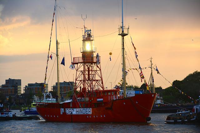Dordt in Stoom 2014 – Vlootschouw – Lightship Noord Hinder