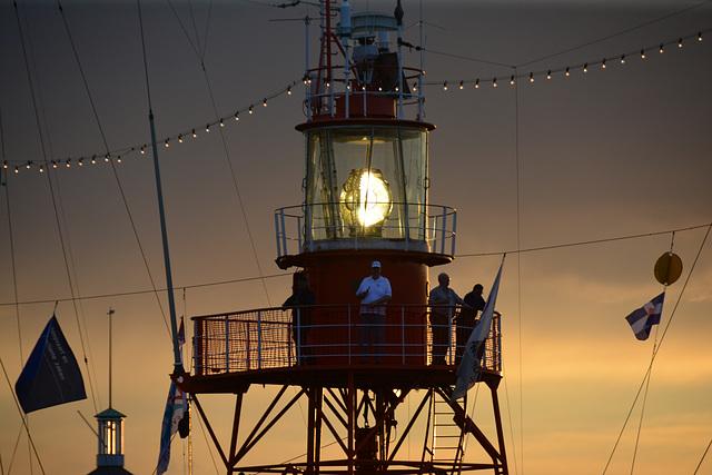 Dordt in Stoom 2014 – Vlootschouw – The light of the lightship Noord Hinder