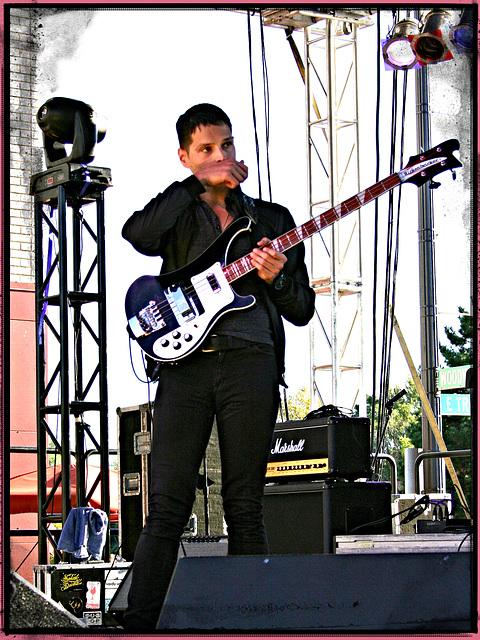 Musician with Axe