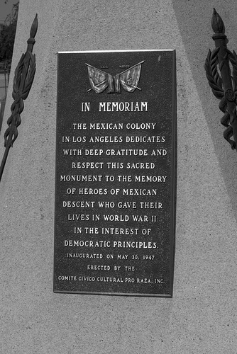 Mexican Veterans Memorial - East Los Angeles (0726)
