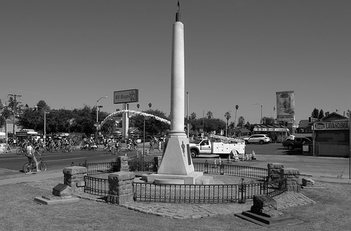 Mexican Veterans Memorial - East Los Angeles (0725)