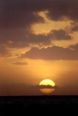 Funchal. Sonnenuntergang vom Feinsten.  ©UdoSm
