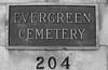 Evergreen Cemetery Entrance On Evergreen Ave (0732)
