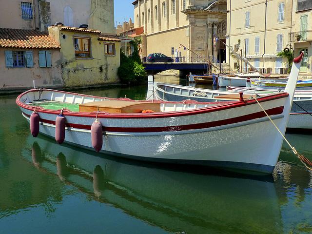 Barque et reflets