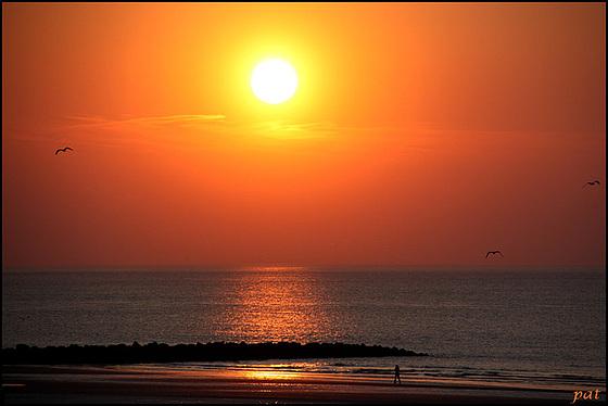 Coucher de soleil du 25 avril