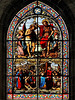 P6057327ac Lyon St Nizier Church Christ Baptism Window