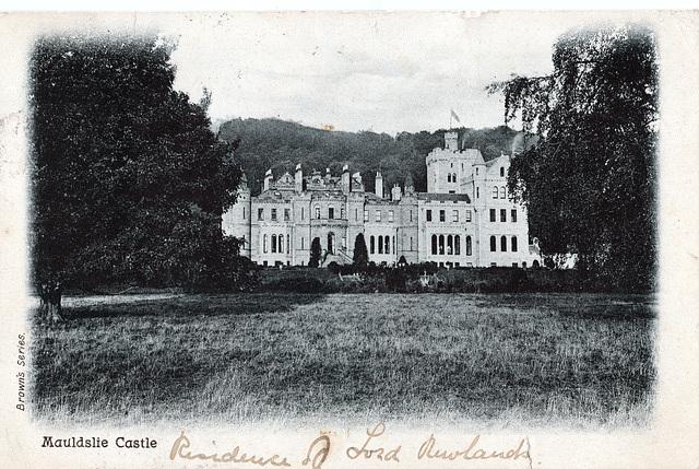 Mouldslie Castle, Carluke, Lanarkshire (Demolished)