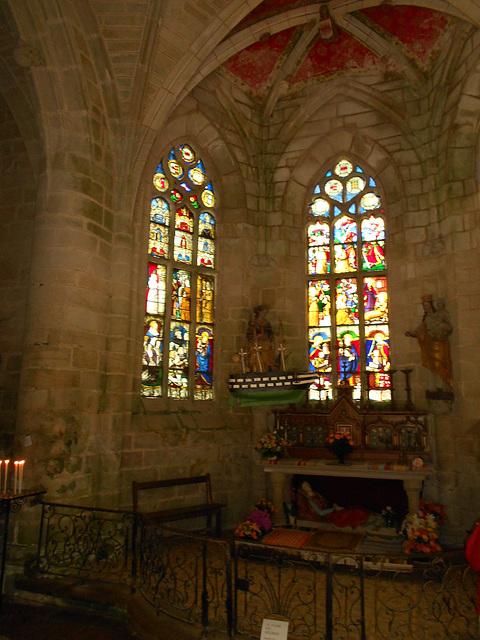 Intérieur de la Chapelle Sainte Barbe